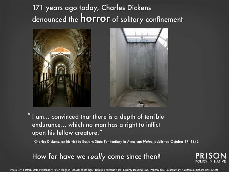 graphic about charles dickens and solitary confinement