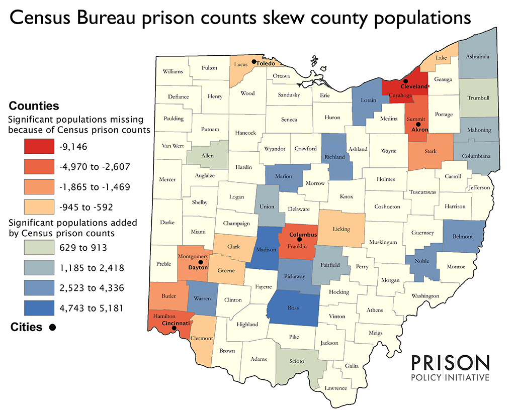 census bureau prison counts skew county populations prison policy initiative. Black Bedroom Furniture Sets. Home Design Ideas