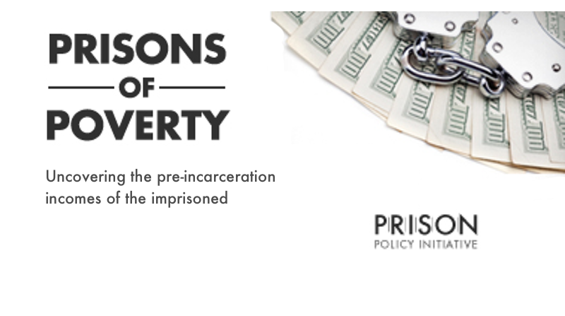 Prisons of Poverty: Uncovering the pre-incarceration incomes of the imprisoned