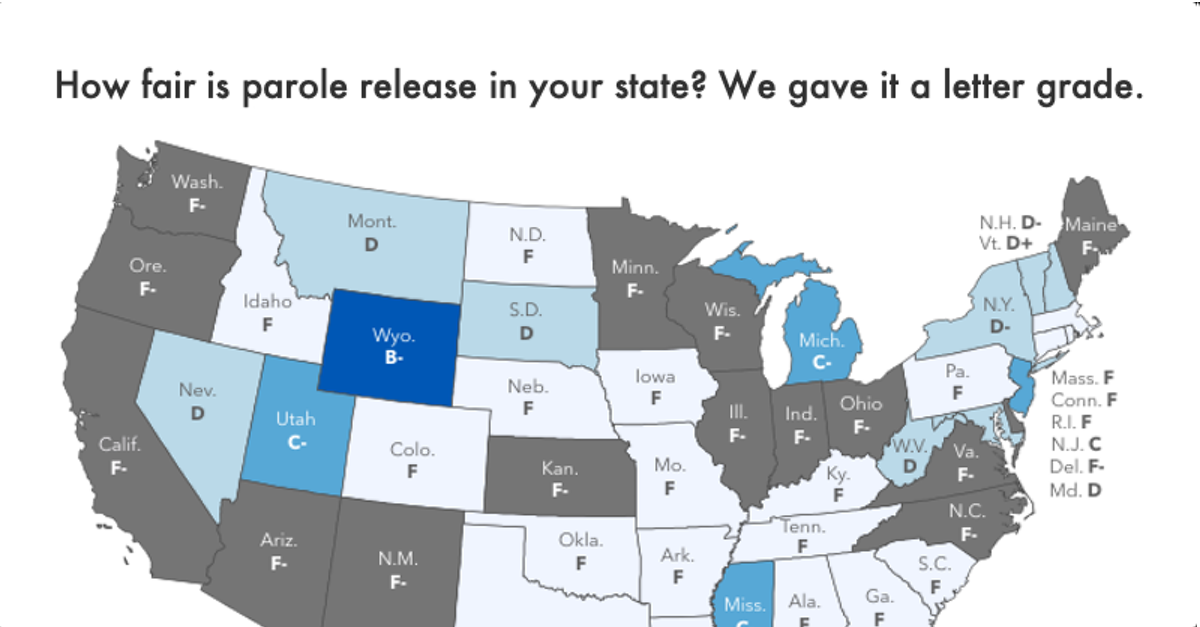 Grading the parole release systems of all 50 states | Prison Policy