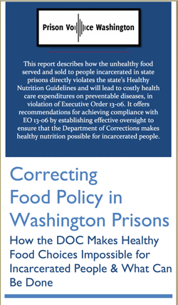Prison Voice Washington report cover