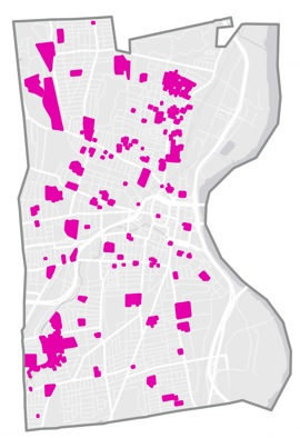 A reduction to 100-ft. zones in Hartford, CT